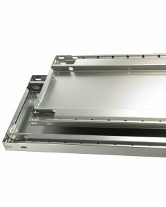 MULTIplus85, B750xT350mm, 85kg Fachlast, sendzimirverzinkt, ohne Fachbodenträger