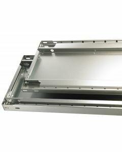 MULTIplus85, B1000xT300mm, 85kg Fachlast, RAL 7035 lichtgrau, ohne Fachbodenträger