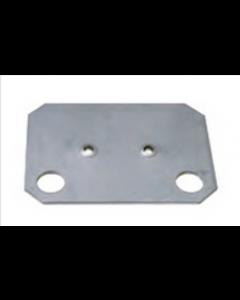 Unterlegplatte - für Einfach-Klemmfuß, Art-Nr.: 12694, verzinkt