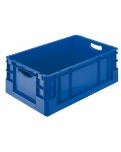 Euro-Stapelkasten, H120xB400xT600 mm, blau