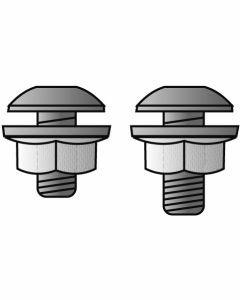 10 Linsenschrauben (M6x12) für MULTIplus150Art.-Nr.: 10360-10