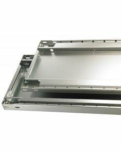 MULTIplus85, B1000xT300mm, 85kg Fachlast, sendzimirverzinkt, inkl. 4 Fachbodenträgern