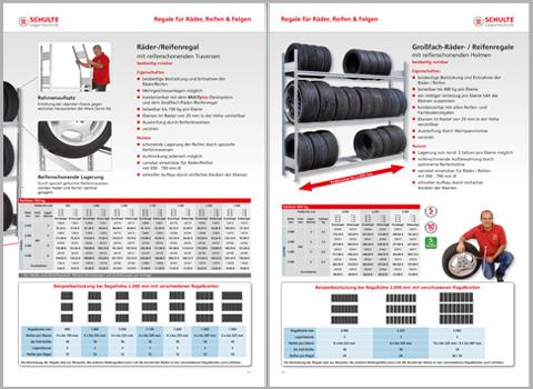 KFZ-Regal Katalog