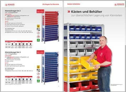 Kleinteileregal Katalog